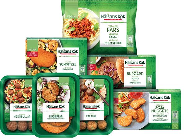 Hälsans Kök - vegan sortiment