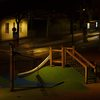 Playground by night