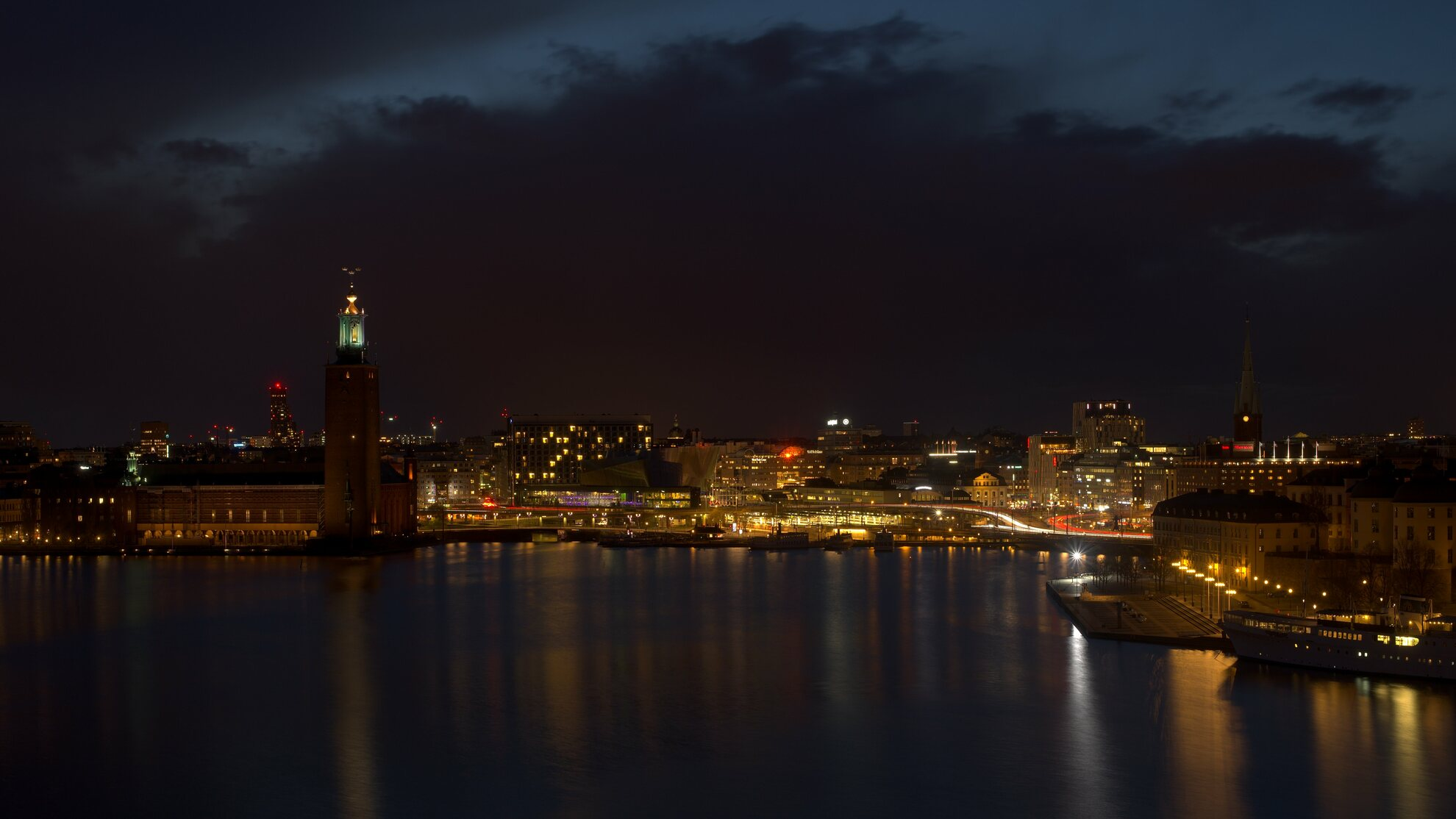 Stockholm night photography 0001